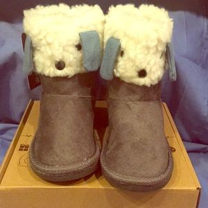 ArcticPaw Faux Suede Girl Boots SZ11